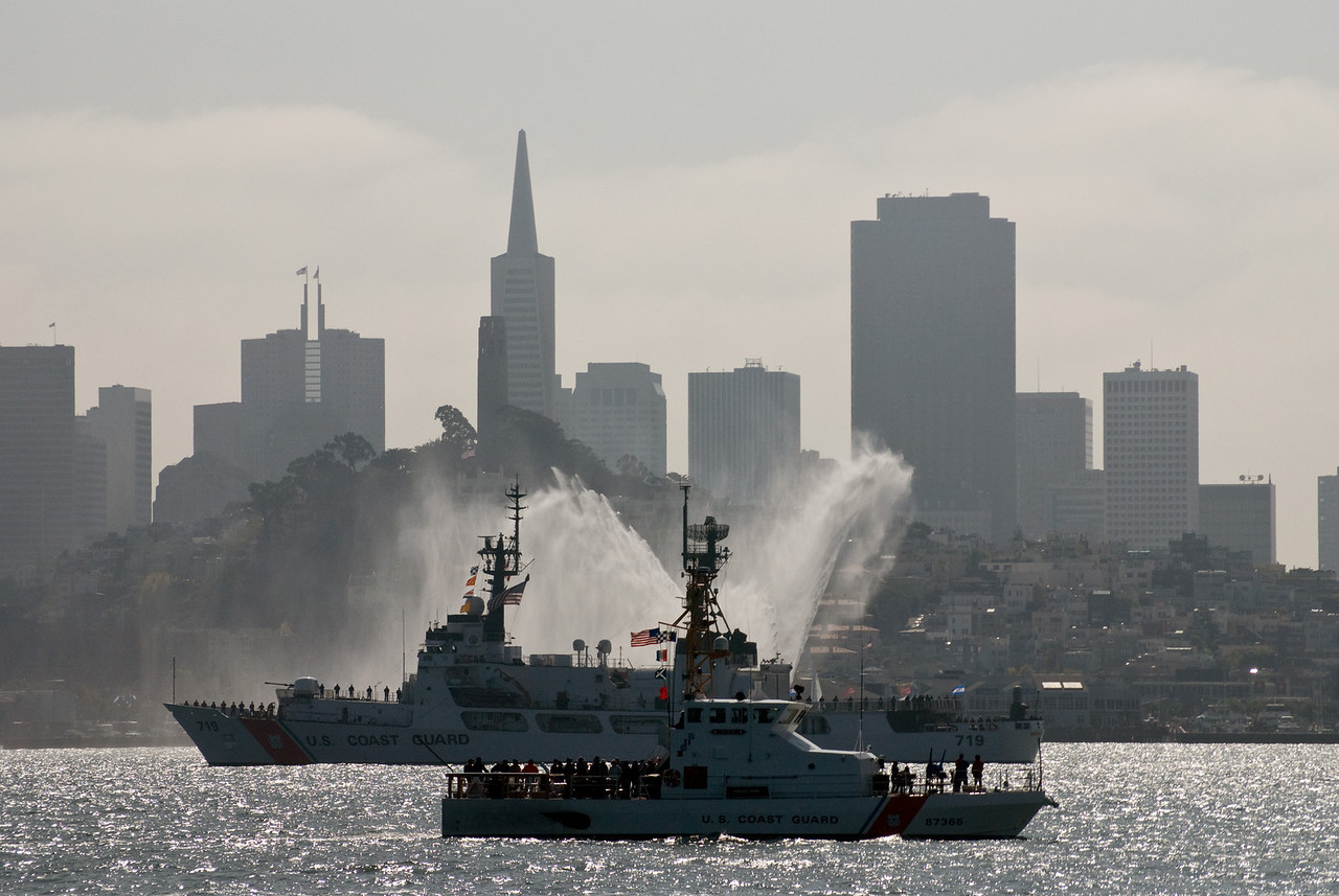 So this is why they call it Fleet Week…